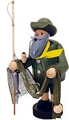 incense smoker, fisherman -the bearded men-