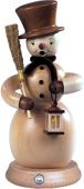 incense smoker, snowman, nature, large