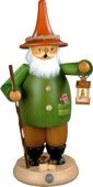 incense smoker, gnome with lantern, large