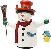 incense smoker, snowman Borzel