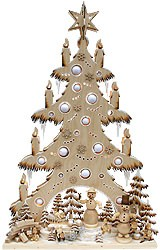 3D light arch giant fir snowman land, for inside