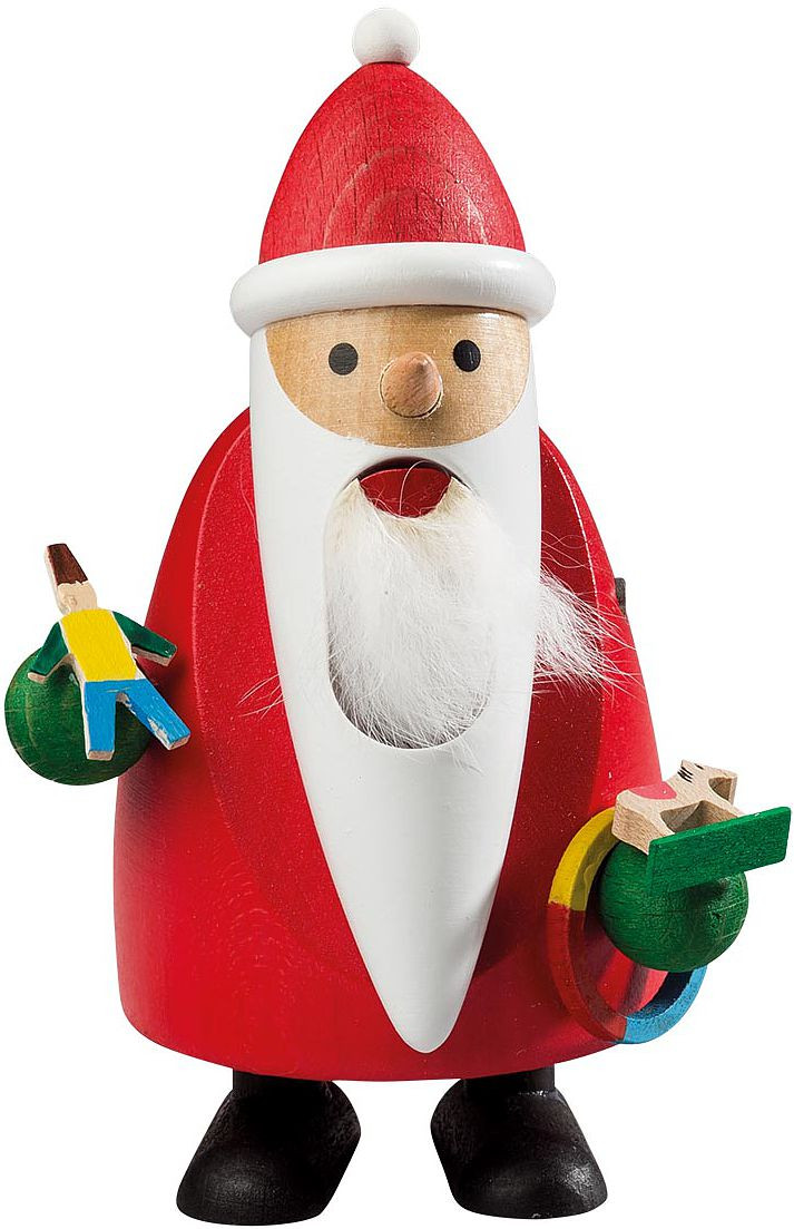 nutcracker longbeard Santa with toys
