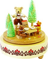 music box honey bear