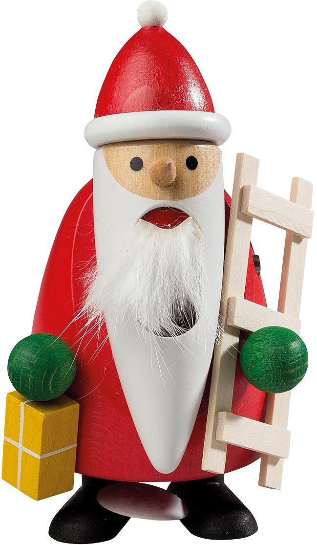 nussknacker longbeard santa with ladder