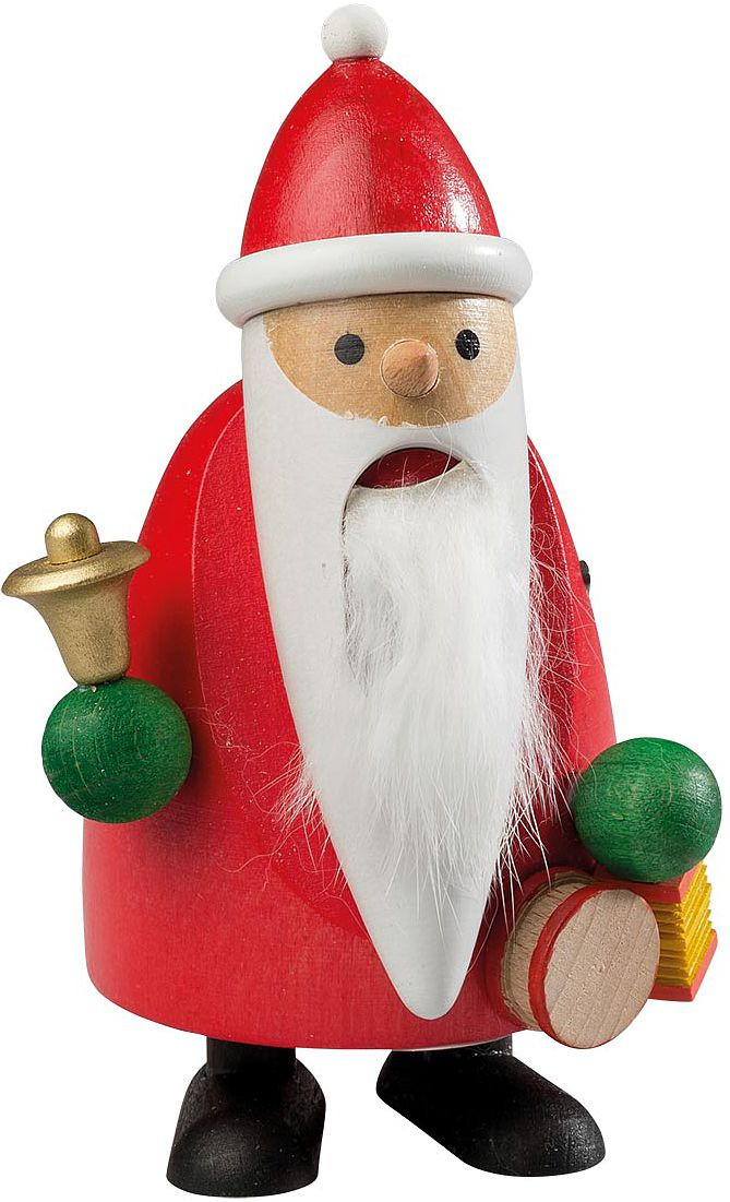 nutcracker longbeard Santa with bell