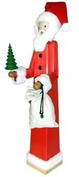 giant-sized incense smoker, Santa Claus