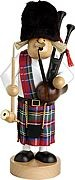 incense smoker, scotsman with bagpipe -the slimline men-