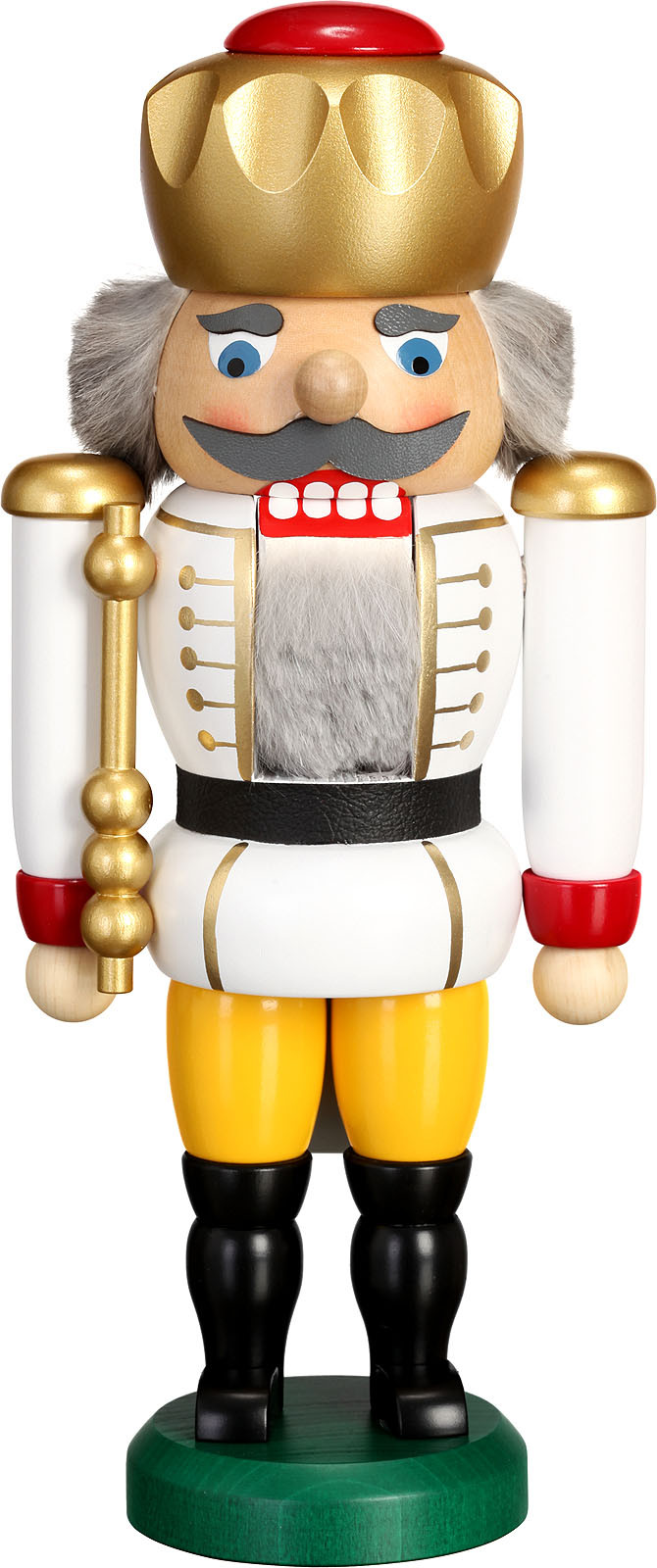 nutcracker king, white