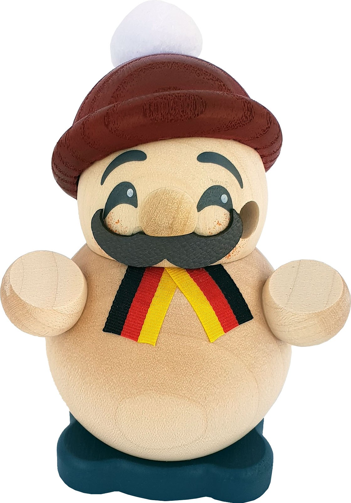 spheric incense smoker, small - German guy