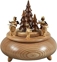 music box advent singers / natural coloured