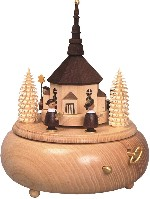 Music Box with Choir and Chruch of Seiffen