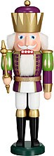nutcracker, king, purple-white