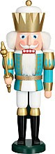 nutcracker, king, turquoise-white