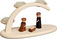 candle arch Nativity