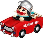 spheric incense smoker, fire engine trabant -limited-
