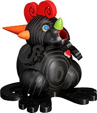 spheric incense smoker, black dragon heart