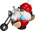 spheric incense smoker, biker Nikolaus