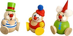 round figure Clowny 3pcs set