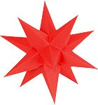 Marienberger Advent star - red