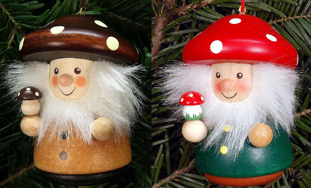 Christian Ulbricht Baumbehang Weihnachtsmann Pilzmännle