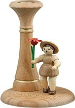 Flowerkid with Candlesticks Natural