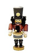 Nutcracker drummer glazed