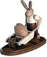 rabbit with pushcart