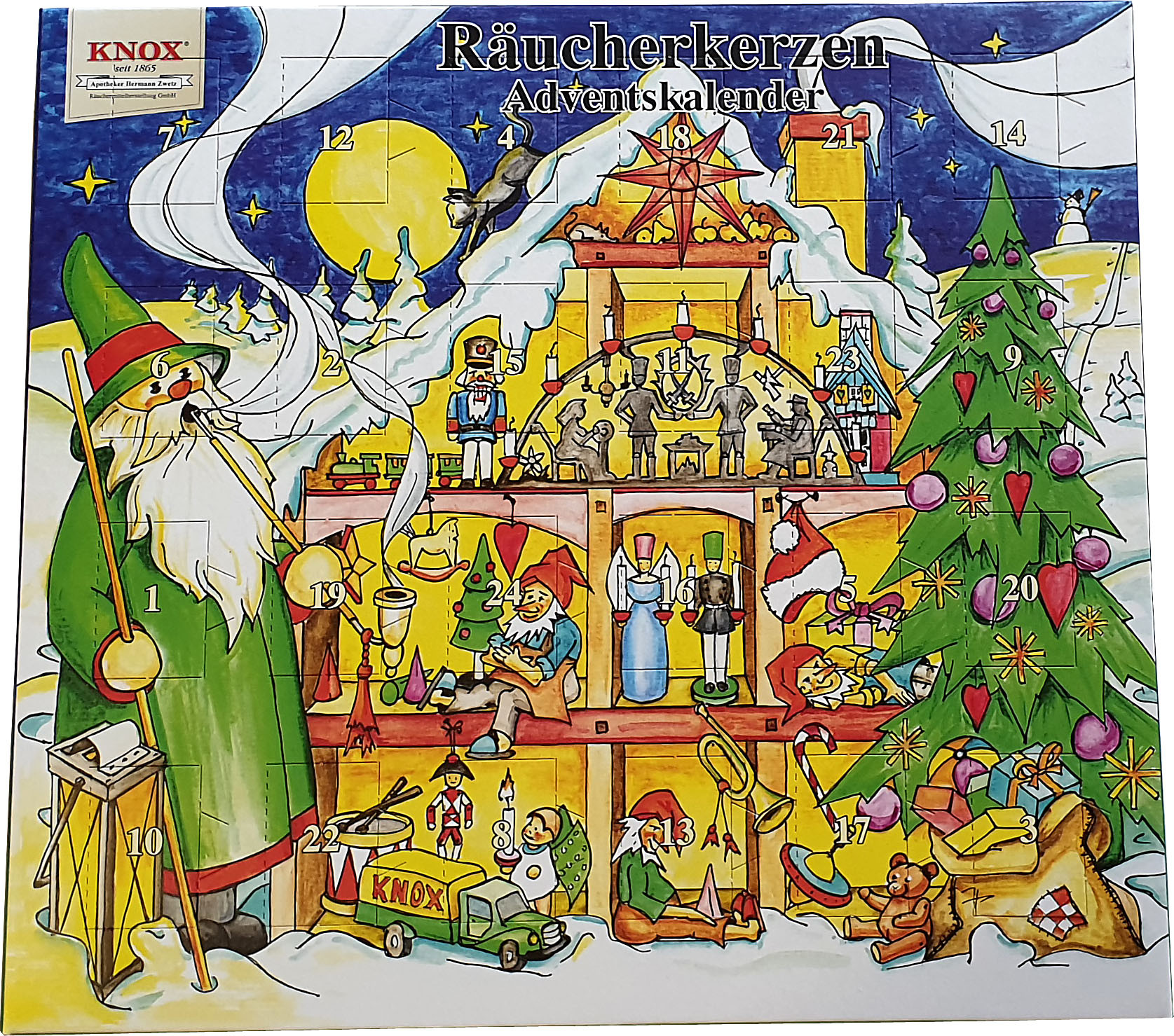 KNOX Räucherkerzen-Adventskalender 2020