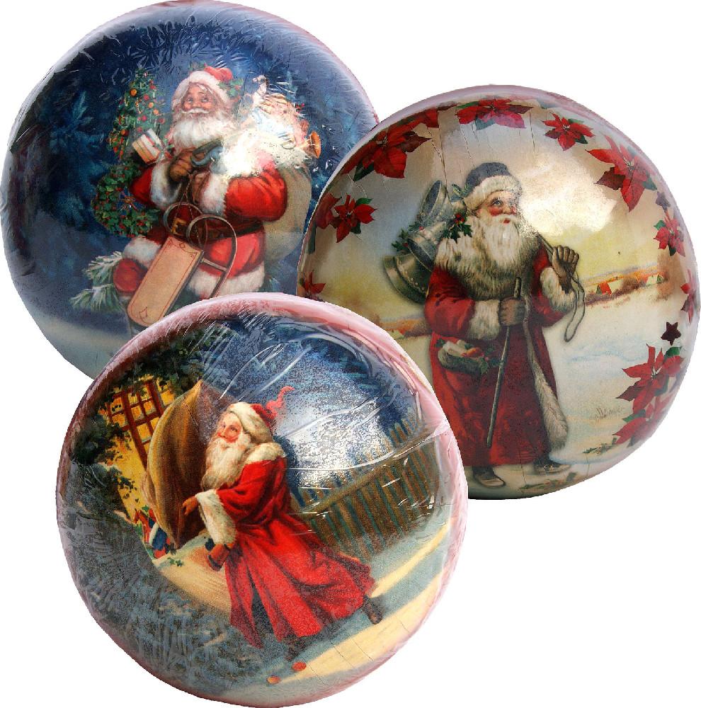 Weihnachtskugeln Nikolaus
