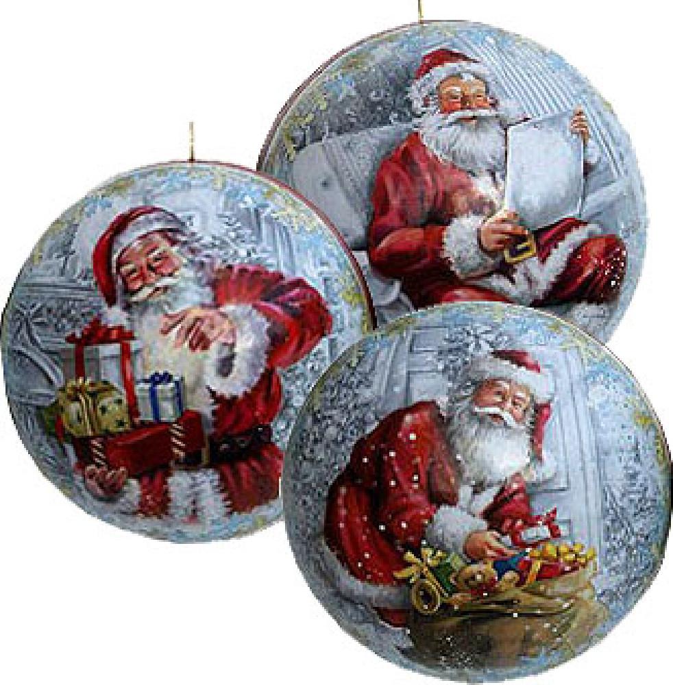 Nestler Weihnachtskugel Weihnachtsabend