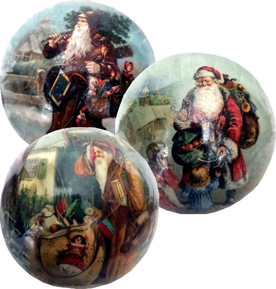 Weihnachtskugeln Weihnachtsmann