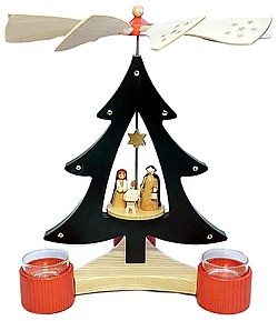tree pyramid christi nativity