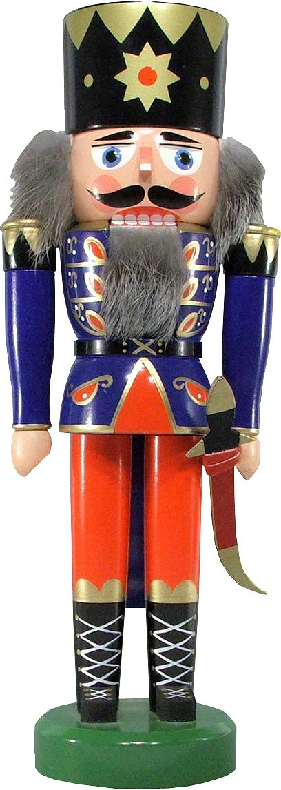nutcracker king, blue