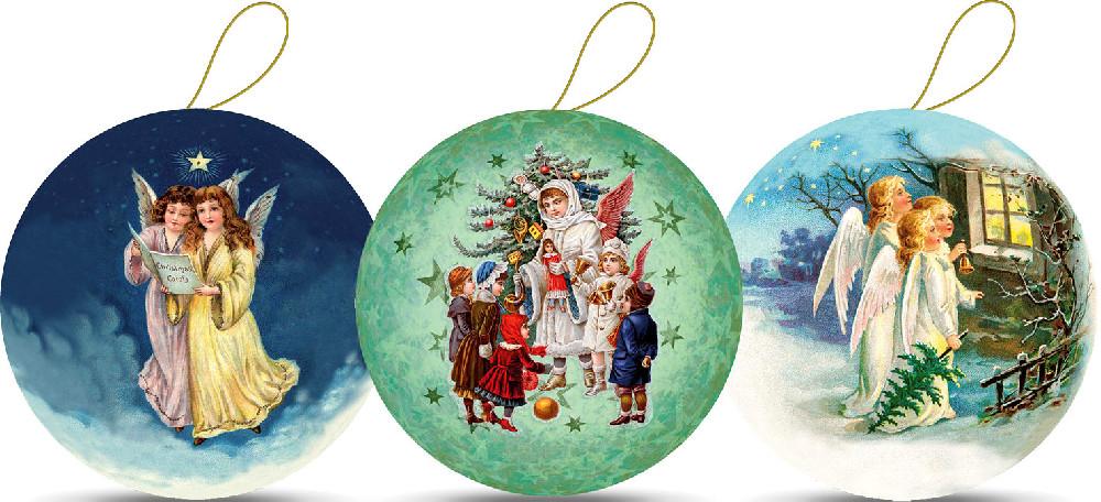 Weihnachtskugeln - Engelchen