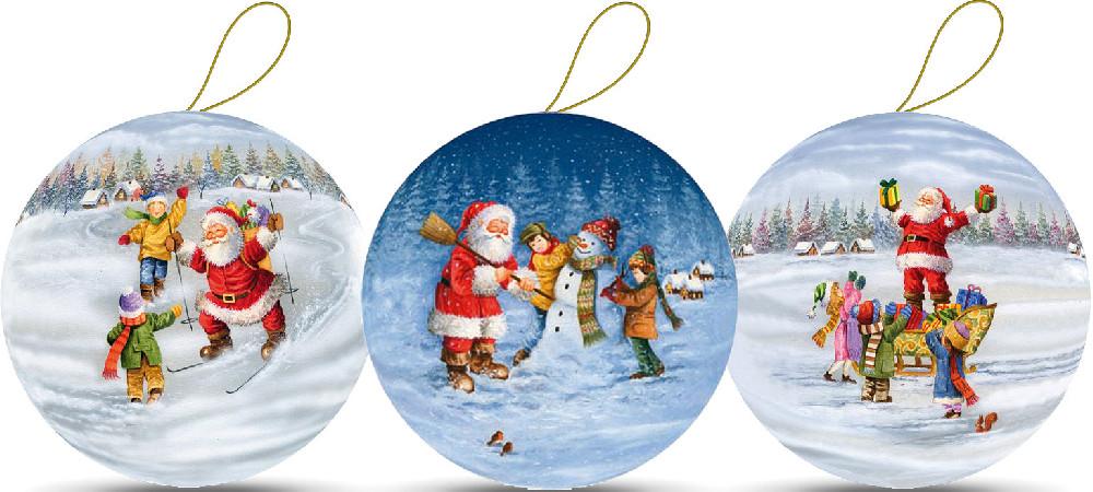Weihnachtskugeln - Weihnachtsspaß