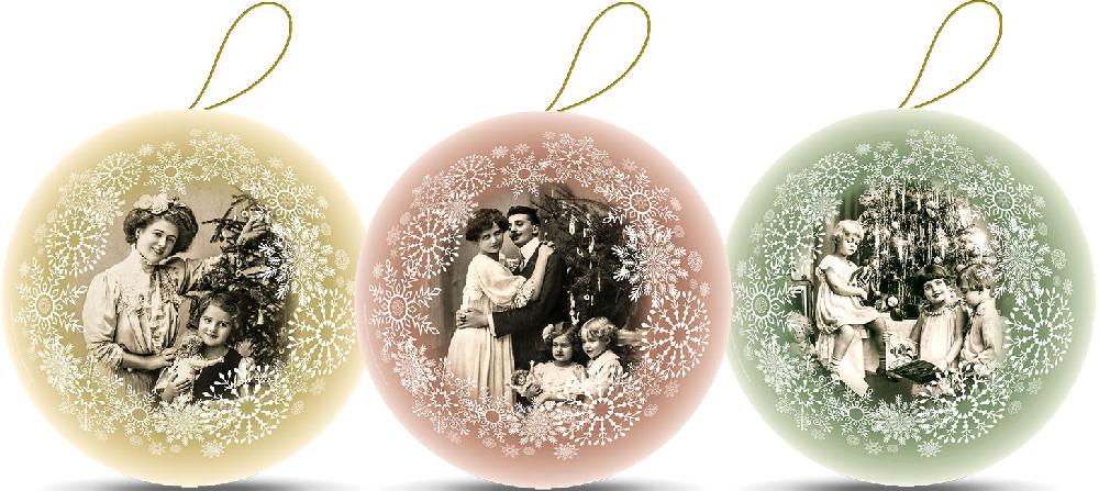Weihnachtskugeln - Es war einmal