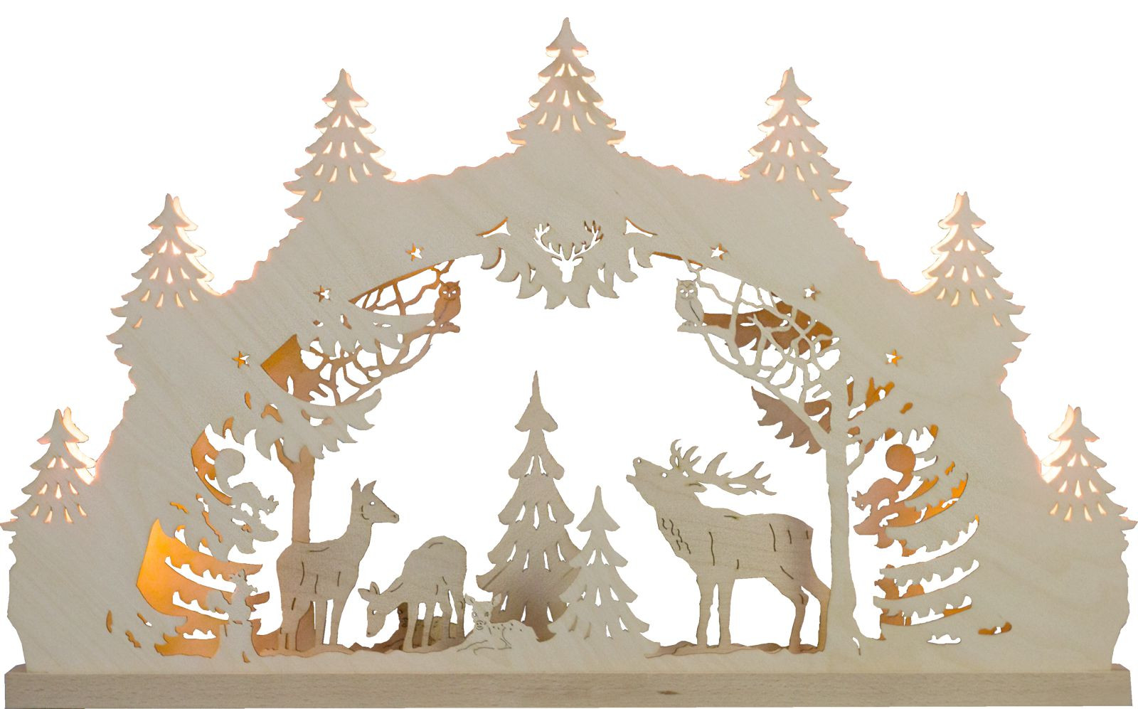 candle arch deer family