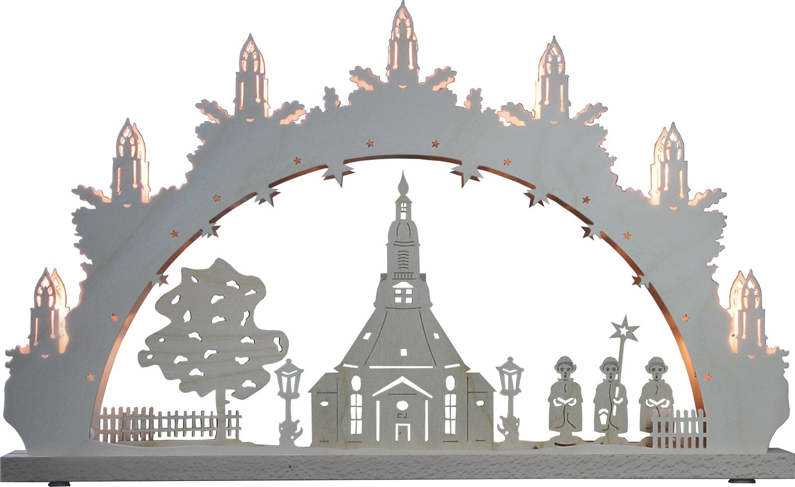 candle arch Seiffen church