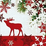 table napkins, elk