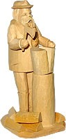 incense smoker, Holzmichel - hand-carved -
